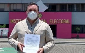 Diputado del PAN denuncia a Morena por usar recursos para promocionar consulta popular