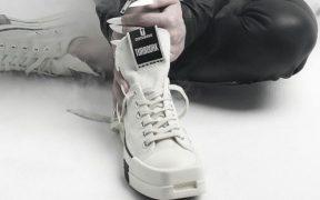 El estilo gótico de Converse con el diseñador Rick Owens