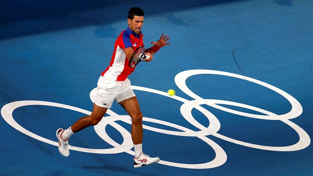 Novak Djokovic venció en dos sets al japonés Kei Nishikori. (Foto: EFE).