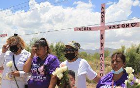 Marchan en Ciudad Juárez para protestar en contra de los feminicidios y la trata