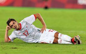 Así celebró Córdova su primer gol. (Foto: Mexsport).