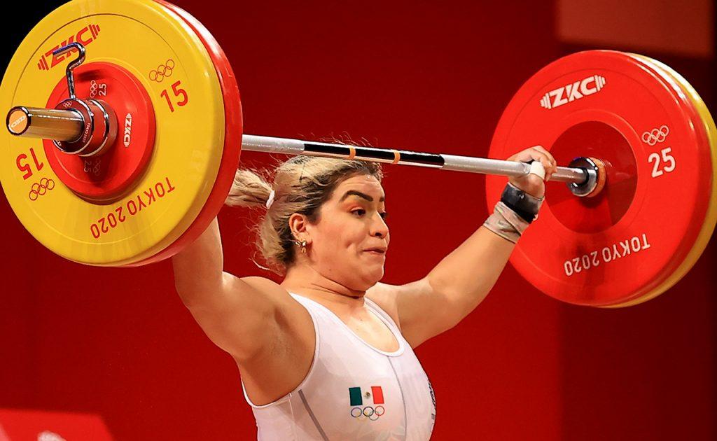 Aremi Fuentes gana medalla de bronce para México en Halterofilia