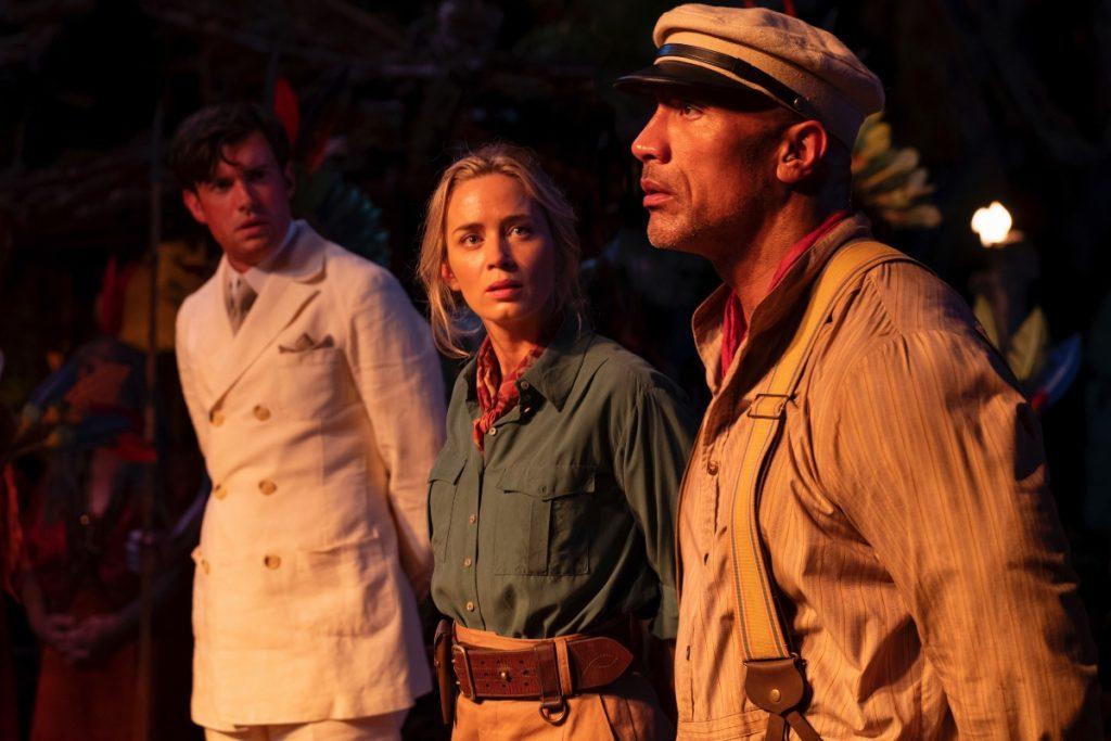 Jungle cruise lidera la taquilla en su primera semana de estreno