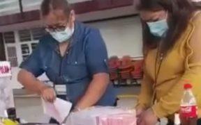 """PRD acusa con videos que dos urnas en la consulta popular fueron """"embarazadas"""""""
