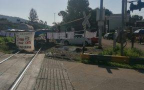 KCSM pide a las autoridades atender demandas de la CNTE, tras nuevo bloqueo ferroviario en Michoacán
