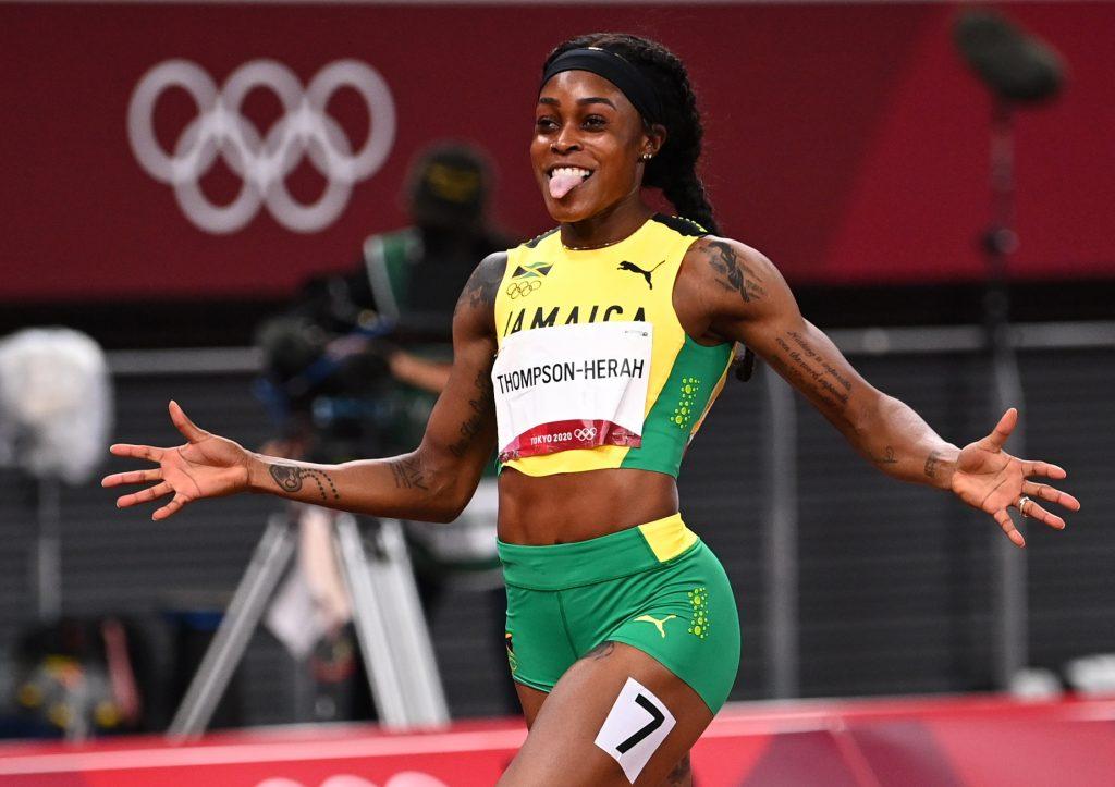 La doble reina de la velocidad retuvo sus dos títulos de Río. (Foto: Reuters).
