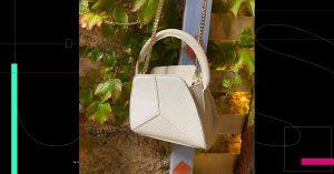 Moda sustentable; una marca parisina lleva la piel de pescado a la creación de elegantes bolsos