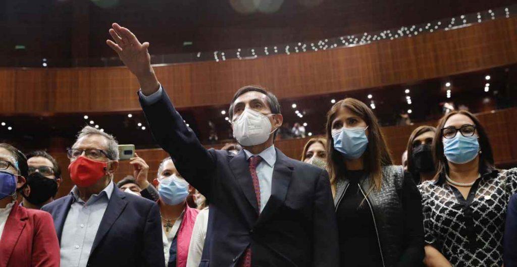 Ramírez de la O rinde protesta como secretario de Hacienda tras ser ratificado por la Cámara de Diputados