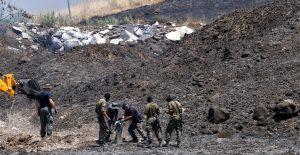 Israel contraataca a tres cohetes lanzados desde Líbano