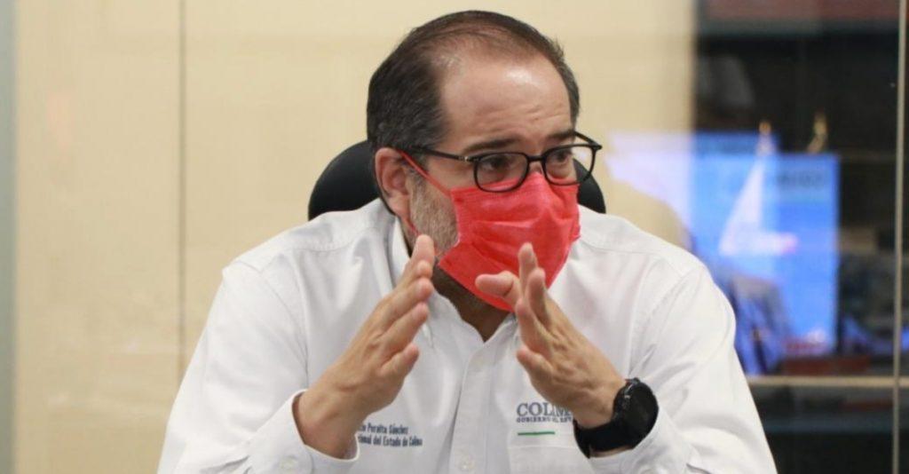 Gobernador de Colima reconoce que aún no reúne fondos para pagar la nómina de trabajadores
