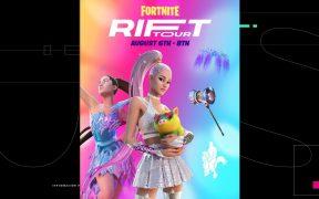 Ariana Grande dará una serie de conciertos virtuales en Fortnite que incluye su nuevo skin con accesorios adicionales