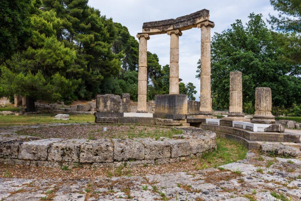 Incendios en Grecia amenazan Olimpia, la cuna de los Juegos Olímpicos