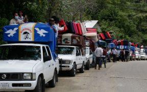 500 desplazados por violencia en Pantelhó, Chiapas, vuelven a sus comunidades