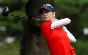 Korda concretó el pleno para Estados Unidos en el golf olímpico, con el oro en la categoría femenil. (Foto: EFE).