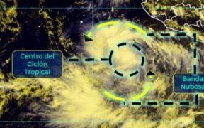 """Se forma la tormenta tropical """"Kevin"""" en costas de Colima; causará lluvias en 7 estados"""