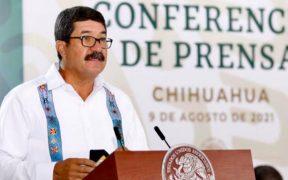 """""""Que la oposición sea lúcida para que se una a impulsar los cambios que el país necesita"""", pide Corral durante visita de AMLO a Chihuahua"""
