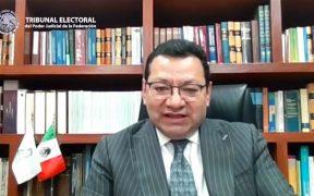 Felipe Fuentes Barrera será presidente del TEPJF hasta el 1 de septiembre