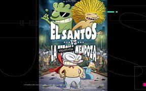 El estudio Ánima lanza la división Adult-YA con la serie El Santos, derivada de 'El Santos vs la Tetona Mendoza'
