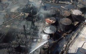 Incendio en planta de Protexa, en Nuevo León, deja un saldo de dos muertos y cuatro heridos