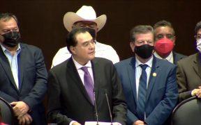 PT abandona la sesión en San Lázaro en la que se decide el desafuero de Mauricio Toledo