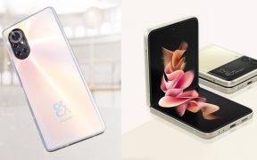 Huawei y Samsung rivalizarán con iPhone con sus nuevos equipos: Huawei nova 8 y Galaxy Z Flip 3