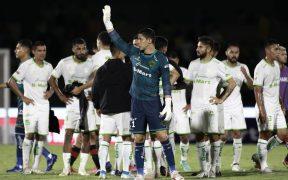 Pese a su error, Hugo González celebró el empate ante Xolos. (Foto: Mexsport).