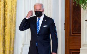 Popularidad de Biden cae; 48.9% de la población lo desaprueba según Real Clear Politics