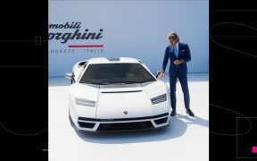 Regresa el Lamborghini Countach, un superdeportivo híbrido con aspecto retro ochentero