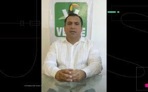 Líder del PVEM en Sinaloa fue localizado tras permanecer 6 días desaparecido