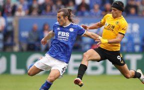 Jiménez jugó los 90 minutos ante Leicester. (Foto: Wolverhampton).