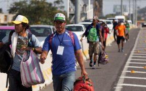"""""""Vamos a seguir conteniendo la migración pero hay que buscar soluciones de fondo"""", dice AMLO"""