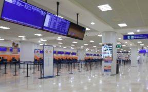 Cancelan vuelos de CDMX a Cancún ante avance del huracán 'Grace'