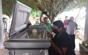FGR exhuma cuerpo del joven presuntamente violado y asesinado por policías de Mérida