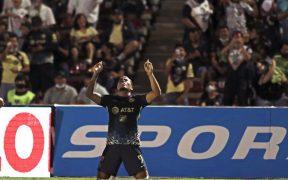 Roger Martínez celebra su gol frente a FC Juárez. (Foto: Mexsport).