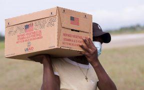 EU transporta ayuda aérea a Haití para las zonas más afectadas por el terremoto
