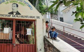 Entre casos activos de Covid y planteles sin filtros sanitarios, así volverán a las aulas en Xalpatláhuac, Guerrero