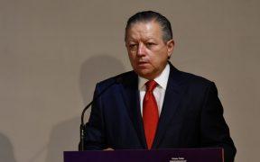 """Zaldívar confía en llegada de magistradas """"modernas y sensibles"""" con modernización del PJF"""