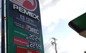 Hacienda decide bajar los estímulos económicos en las gasolinas a partir de mañana