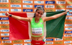 Ramos conquistó el oro en los 10 mil metros de caminata en Nairobi. (Foto: EFE).