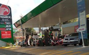 Imparable, precio promedio de la gasolina premium; llega a 22.40 pesos el litro
