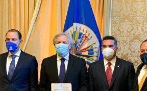 """Coalición """"Va por México"""" denuncia ante la OEA la presunta intromisión del crimen organizado en las elecciones pasadas"""