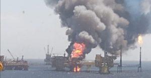Incendio en plataforma de Pemex en Campeche avivó precios altos del petróleo, revela OPEP