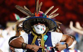 La delegación paralimpica de México derrochó alegría durante el desfile inaugural. (Foto: Reuters).