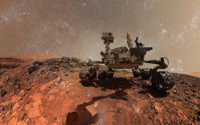 La NASA muestra cómo sería un día soleado en Marte, con una panorámica capturada por el Curiosity