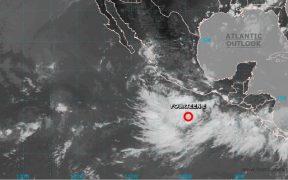 Se forma depresión tropical en costas de Guerrero; dejará fuertes lluvias en cuatro estados