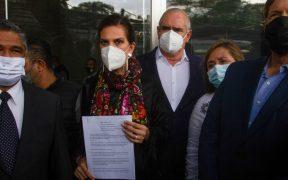 Legisladores del PAN acuden al Ministerio Público para pedir copias del expediente contra Ricardo Anaya