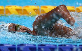 Ángel Camacho terminó en cuarto puesto en la final de 100 metros libres S4. (Foto: Reuters).