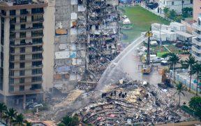 Video muestra daños estructurales del edificio colapsado en Miami