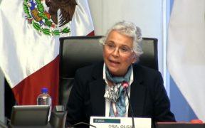 Sánchez Cordero se va por no estar de acuerdo con algunas cosas, no la echaron, asegura Muñoz Ledo
