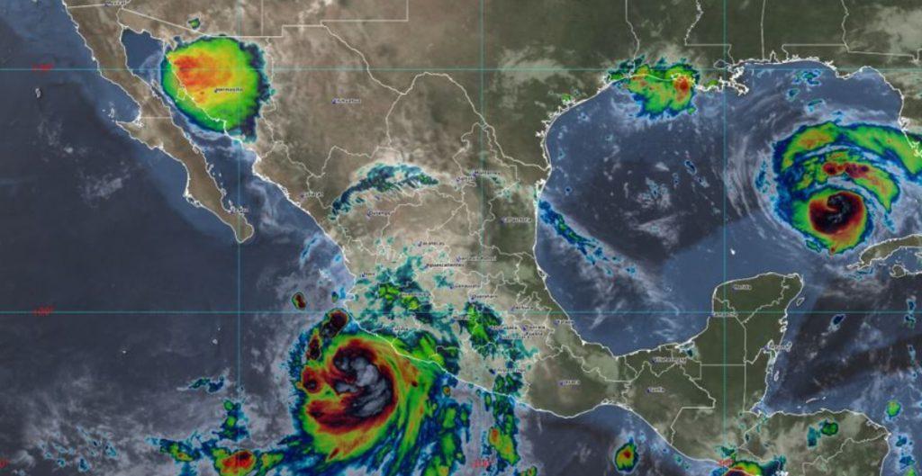 'Nora' se intensifica a huracán categoría 1